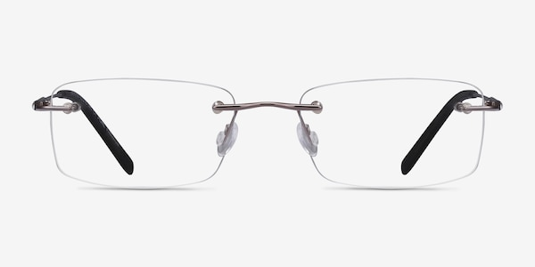 Dimension Gunmetal Titanium Eyeglass Frames