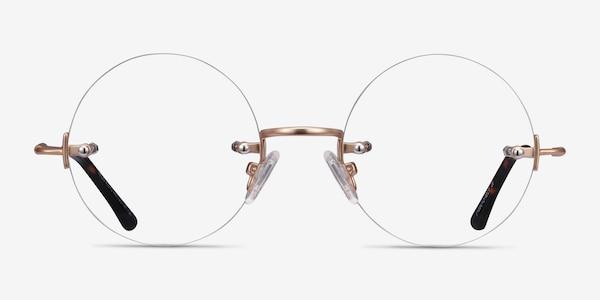 Palo Alto Golden Métal Montures de lunettes de vue