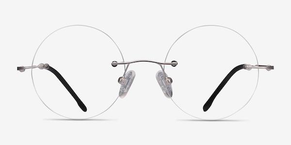 Altus Silver Metal Eyeglass Frames
