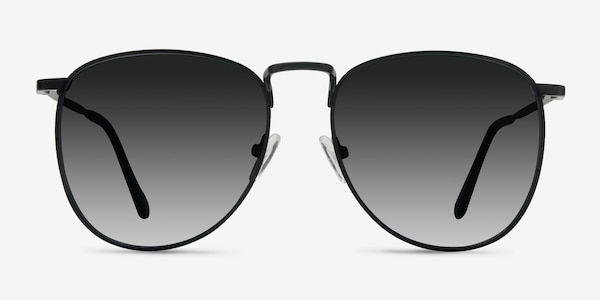 Fume Black Metal Sunglass Frames