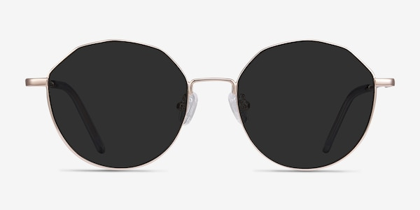 Village Rose Gold Metal Sunglass Frames