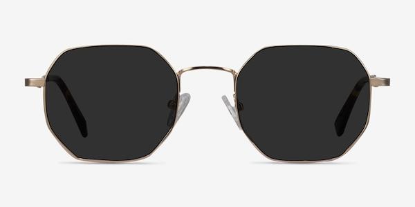 Sun Soar Golden Metal Sunglass Frames