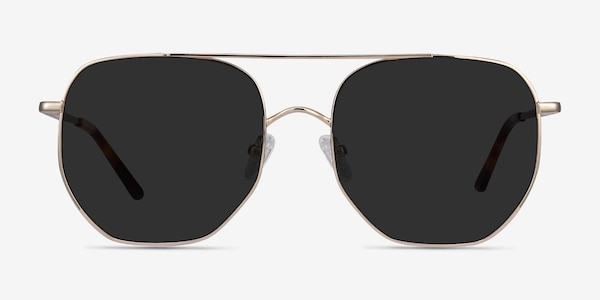 Impossible Golden Metal Sunglass Frames