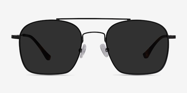 Itza Black Metal Sunglass Frames