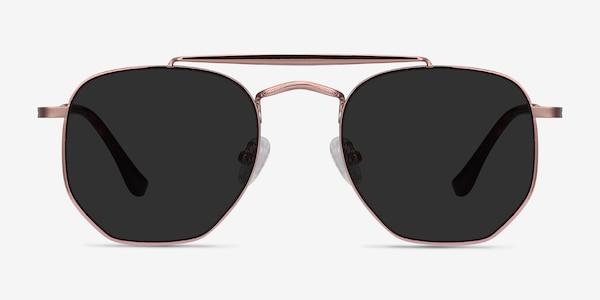 Venture Rose Gold Metal Sunglass Frames