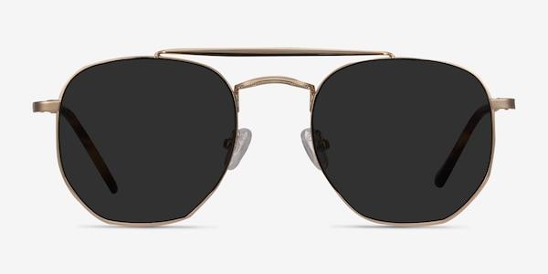 Venture Golden Metal Sunglass Frames