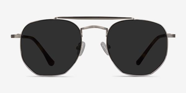 Venture Silver Metal Sunglass Frames