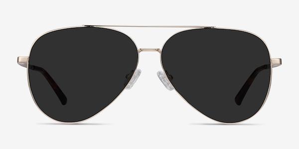 Flier Golden Metal Sunglass Frames