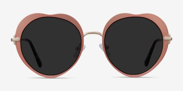 Luv Rose Gold Metal Sunglass Frames