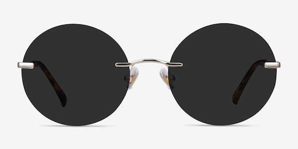 Chorus Light Gold Metal Sunglass Frames
