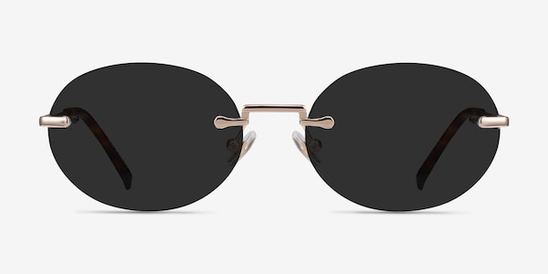Daze Rose Gold Metal Sunglass Frames