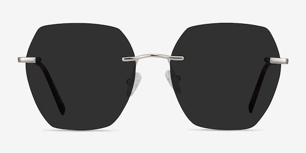 Genoa Silver Metal Sunglass Frames