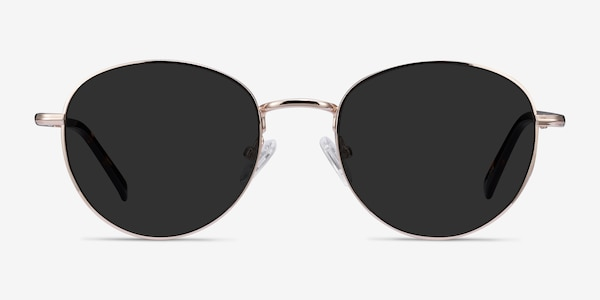 Span Gold Acetate-metal Sunglass Frames