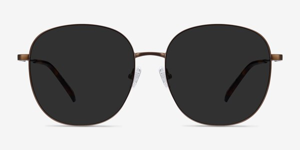 Ellis Bronze Metal Sunglass Frames