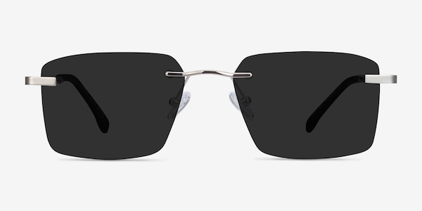 Invent Silver Metal Sunglass Frames