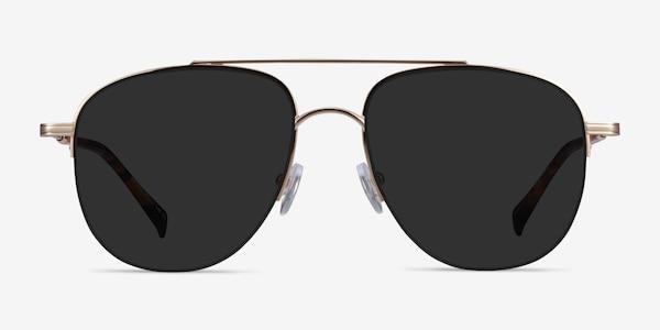 Garros Gold Tortoise Metal Sunglass Frames