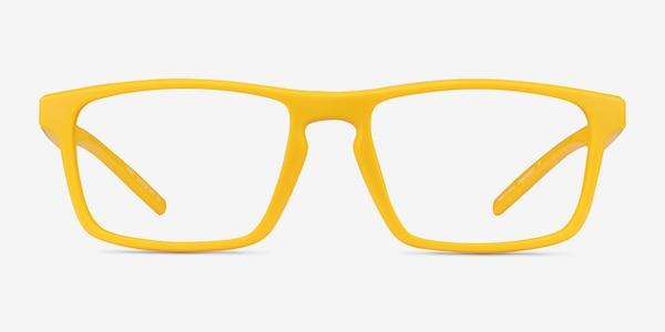 First Yellow Plastic Eyeglass Frames