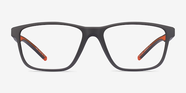 Base Gray Orange Plastique Montures de Lunette de vue
