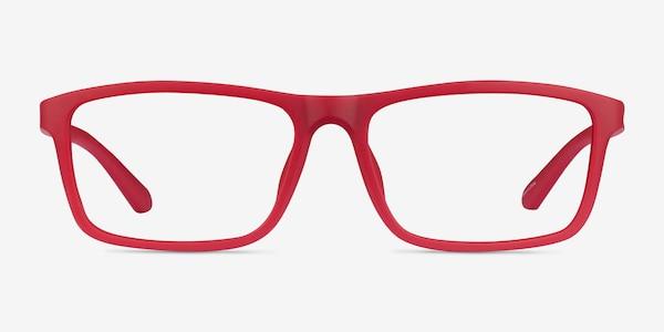 Team Matte Red Acetate Eyeglass Frames
