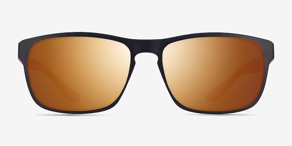Kick Matte Black Orange Plastique Soleil de Lunette de vue