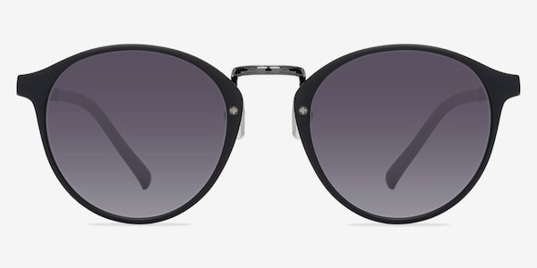 Millenium Matte Black Plastic Sunglass Frames