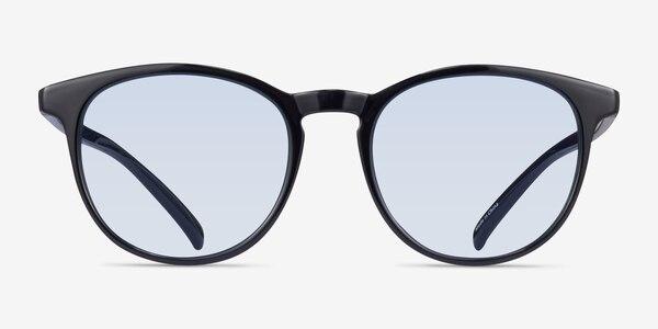 Deja Vu Black Plastic Sunglass Frames
