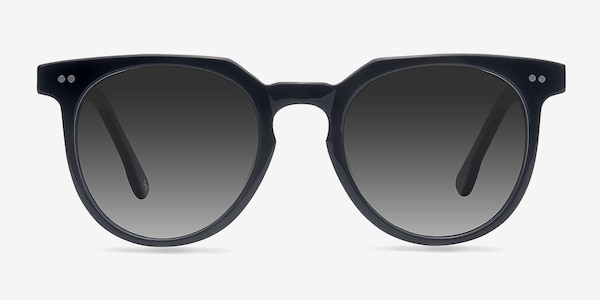Shadow Jet Black Acetate Sunglass Frames