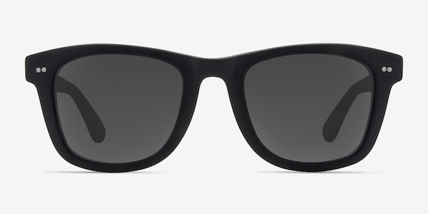 Nevada Matte Black Acetate Sunglass Frames