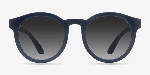 Oasis Matte Navy Plastic Sunglass Frames