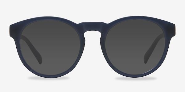 Taylor Matte Navy Plastic Sunglass Frames