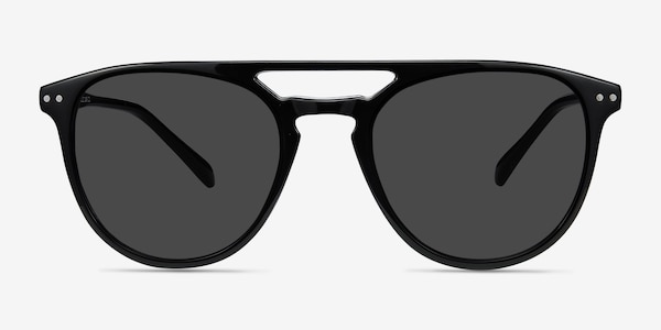 Meadow Black Plastic Sunglass Frames
