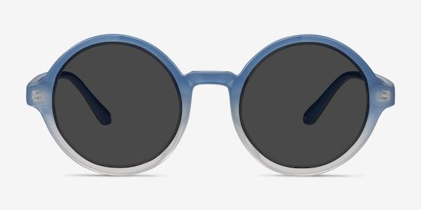Solstice Blue Clear Plastic Sunglass Frames