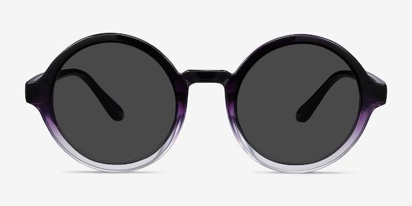 Solstice Purple Clear Plastique Soleil de Lunette de vue