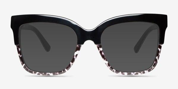 Intrigue Black Leopard Acetate Sunglass Frames