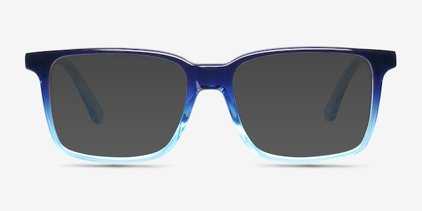 Epoch Blue Acetate Sunglass Frames
