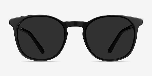Safari Black Acetate Sunglass Frames