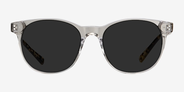 Sol Gray Clear Acetate Sunglass Frames