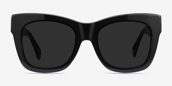 Calico Black Acetate Sunglass Frames