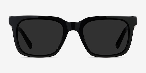 Riddle Black Acetate Sunglass Frames