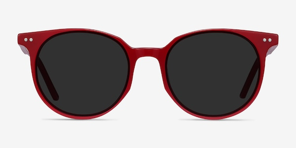 Hideout Red Acetate Sunglass Frames
