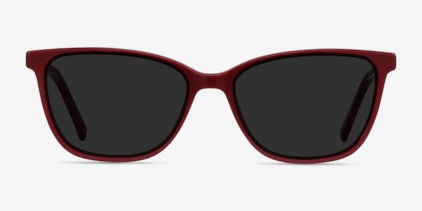 Halle Red Acetate Sunglass Frames