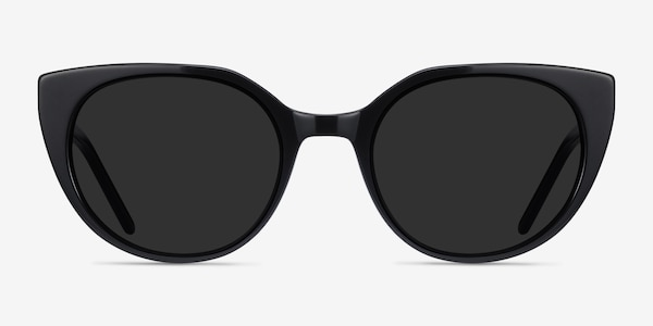Sun Rhyme Black Acetate Sunglass Frames
