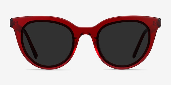 Cherish Red Acetate Sunglass Frames