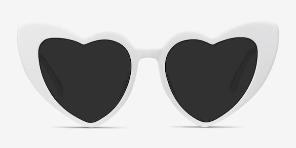 Darling White Acetate Sunglass Frames