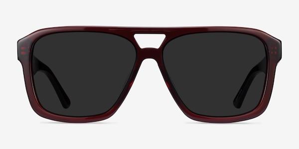 Bauhaus Burgundy Acetate Sunglass Frames
