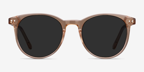 Seah Clear Brown Acetate Sunglass Frames