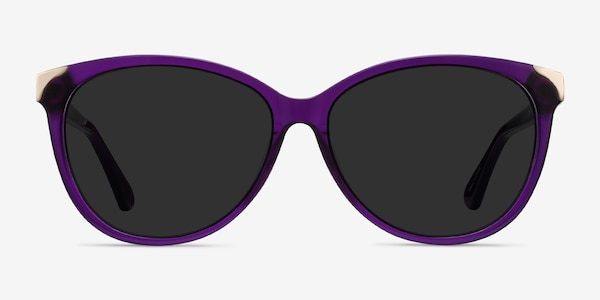 Lima Purple Acetate Sunglass Frames