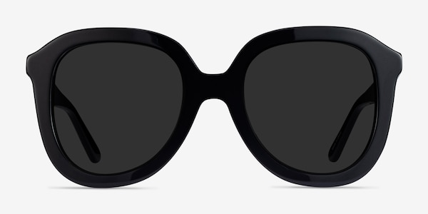 Wendy Black Acetate Sunglass Frames