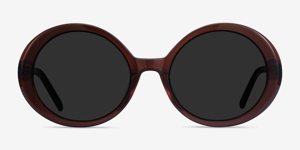 Tina Coffee Acetate Sunglass Frames