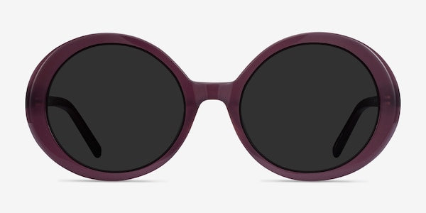 Tina Purple Acetate Sunglass Frames